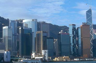 View of Hong Kong Skyline of Major Manufacturers